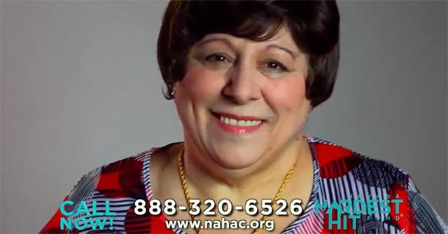 Hardest Hit Fund commercial screenshot